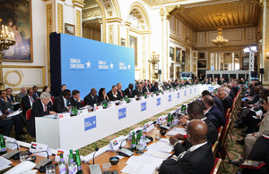 The Somalia Conference in London.