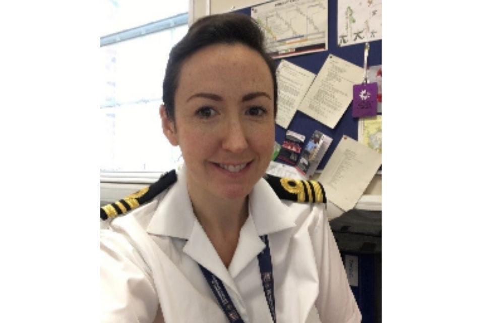 Lieutenant Commander Becky Everest.