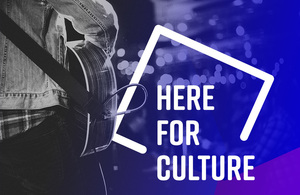 Here For Culture graphic