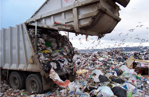 In 2012, the UK landfilled only 40% of its municipal waste