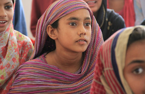Daddla can continue her education thanks to repairs made to her school, funded by UK aid. Picture: Vicki Francis/DFID