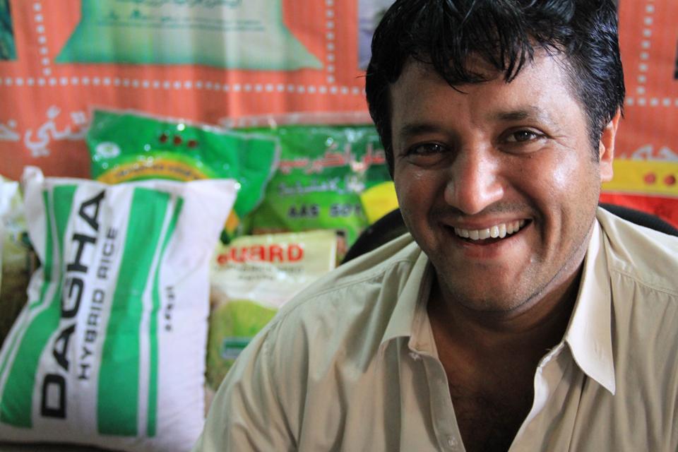 Nanikram Tharani. Picture: Vicki Francis/DFID