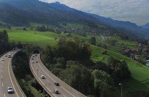 A3 motorway, Switzerland.