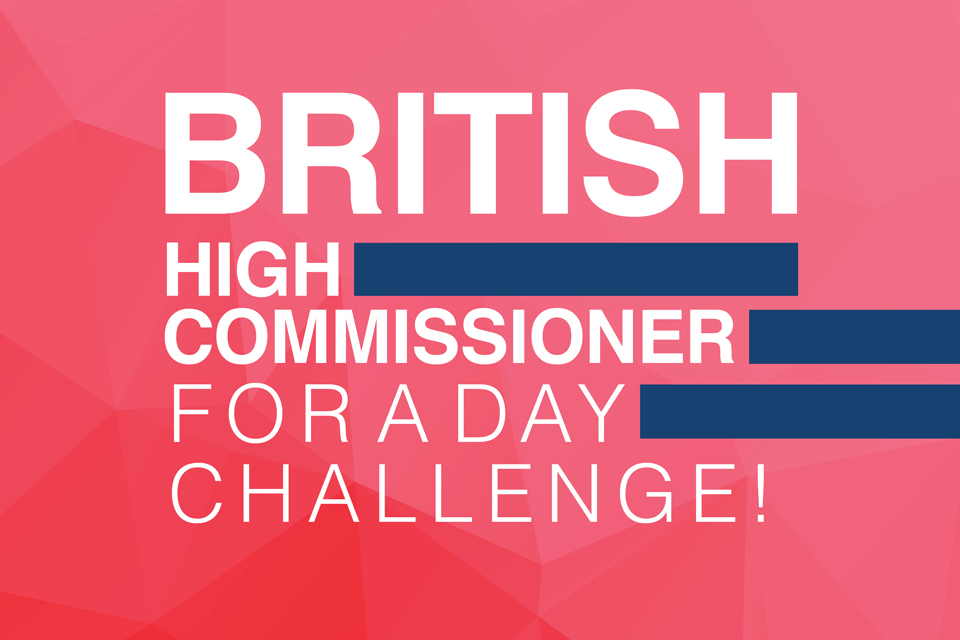 Your chance to be the British High Commissioner to India - GOV.UK