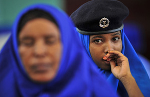 Fresh support will help train more police officers like these recent recruits at Mogadishu's training academy
