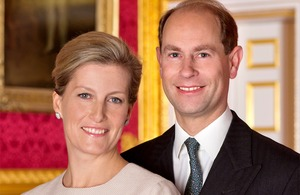 Their Royal Highnesses The Prince Edward and The Countess of Wessex