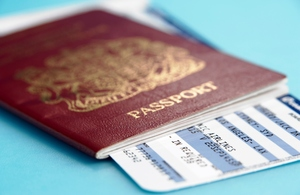 Change to passport service for British nationals