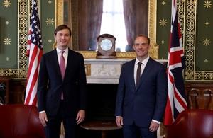 Foreign Secretary and Jared Kushner