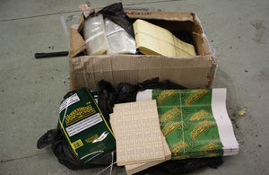 Tobacco seized by HMRC