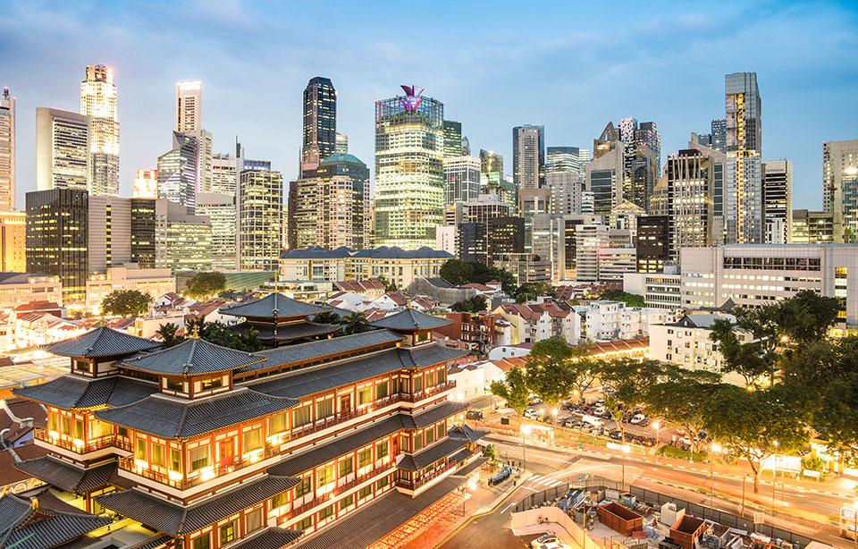 Photo of Singapore city centre