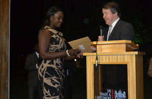 Barbara Ackonor receives Chevening/Mansion House Scholarship