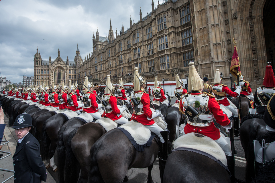 Members of the Household Cavalry Mounted Regiment