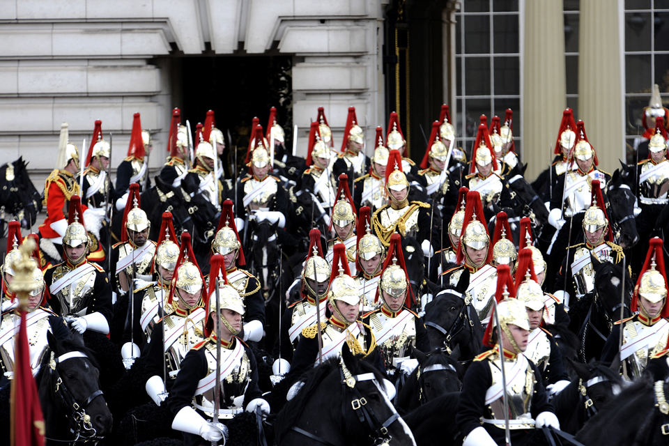 Soldiers of the Blues and Royals