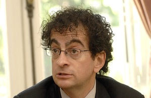 British Ambassador to Chile Mr Jon Benjamin