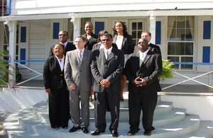 The Turks and Caicos Islands Cabinet members