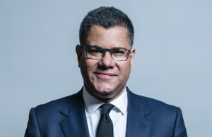 Portrait of Secretary of State for BEIS, Alok Sharma