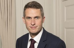 Education Secretary, Gavin Williamson