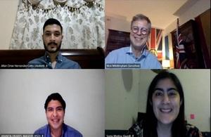 Farewell event for Honduras Chevening Cohort