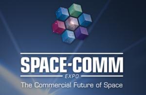 Space-Comm Expo logo