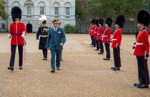 LAF Commander General Joseph Aoun visits the UK