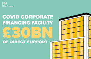 Covid Corporate Financing Facility £30 billion of direct support