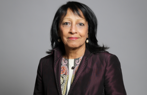 Portrait of EHRC new chair, Baroness Falkner