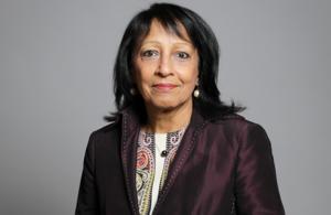Portrait of EHRC new chair, Baroness Falkner