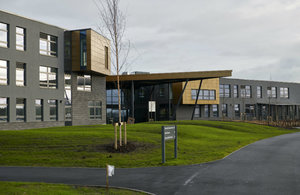 Whitehaven Academy at Whitehaven, West Cumbria