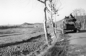 British Churchill tanks on the move during the Korean War (library image) [Picture: Public domain]
