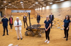 Science Minister Solloway at Airbus