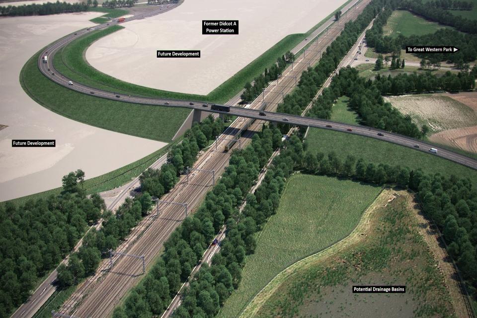 Oxfordshire CGI image of HIF.