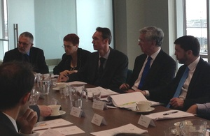 Wales Office Minister Stephen Crabb and Energy Minister Michael Fallon hosting a Welsh Energy Summit