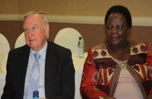 Botswana Parliament visit