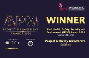 APM Awards 2020 logo