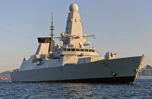 HMS Daring (library image) [Picture: Corporal Al Crowe RAF, Crown copyright]