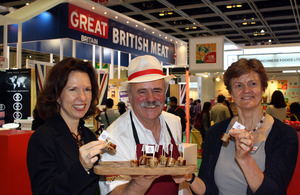 The GREAT Taste of Britain tasting event