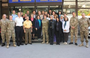 Contribution to the excellent bilateral defence cooperation between UK and Macedonia.