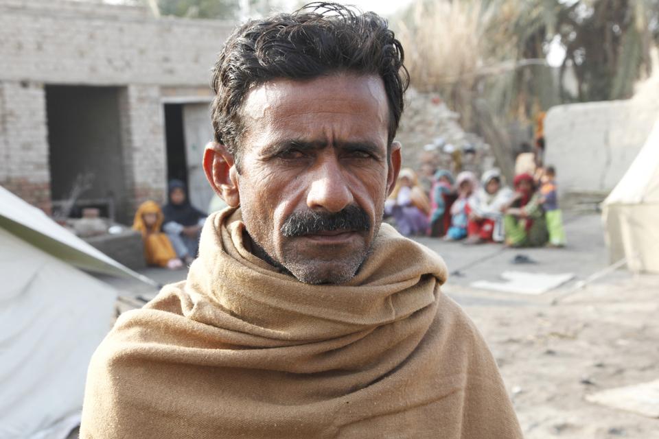 Village elder Punhal, Sindh province. Picture: Russell Watkins/DFID