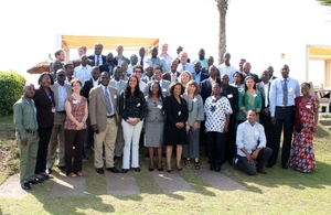 Participants of the PAA Africa Knowledge Exchange Workshop. Credits: Rosana Miranda/WFP.