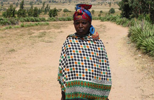 Martina in her village in Singida, Tanzania, where she now leads a normal healthy life. Picture: Women's Dignity