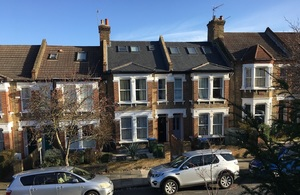 Victorian terraced houses in Charlton, south London
