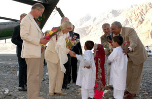 Prince of Wales in Pakistan