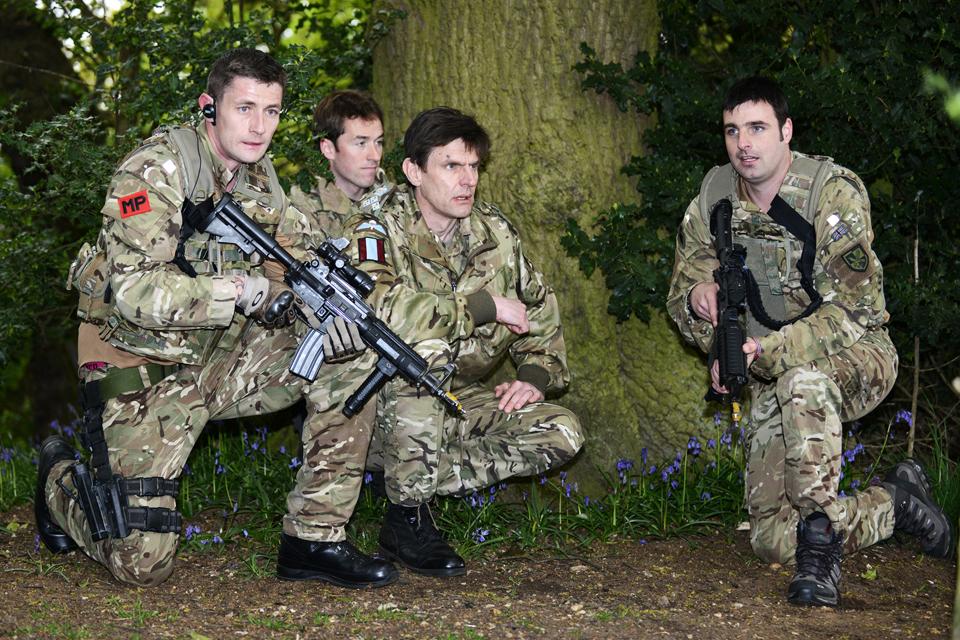 Ambush tests military police close protection skills ...