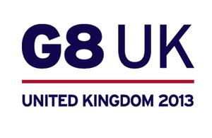 UK G8 logo