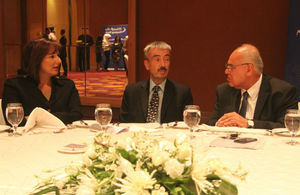 British Ambassador Peter Millett with Jordanian business representatives