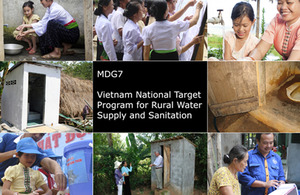 Various pictures of Vietnam water and sanitation projects