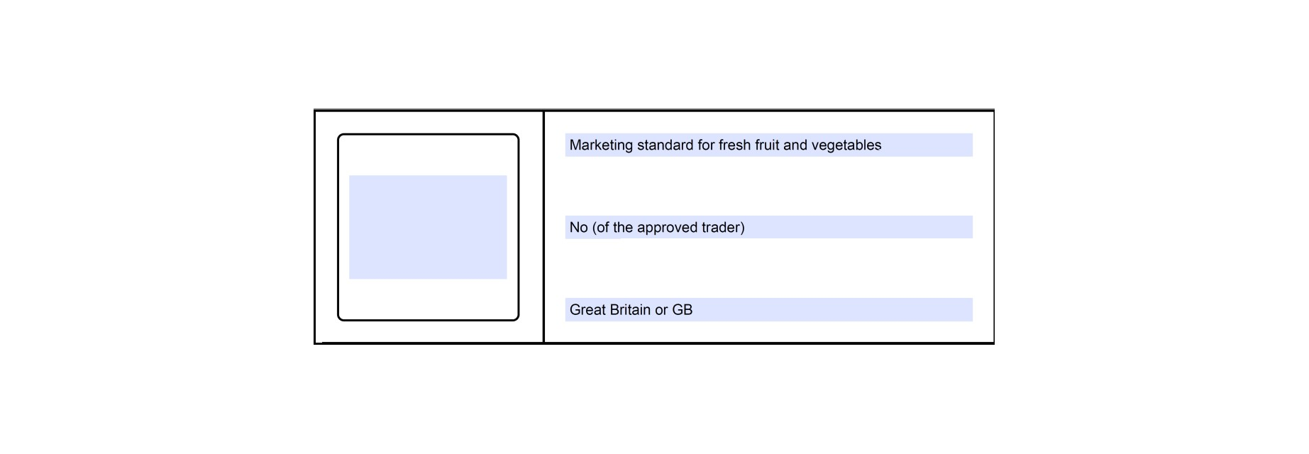 GB Approved Trader Scheme label