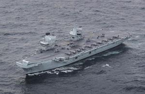 Image depicts HMS QUEEN ELIZABETH.