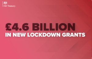 £4.6 billion in new lockdown grants