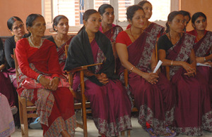 A paralegal committee meeting in Kavre district, Nepal. Picture: UNICEF